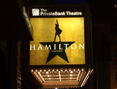hamilton musical the private bank theatre